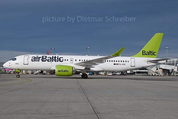 2019-11-19 YL-CSE A220-300 Air Baltic