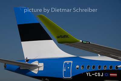 2019-08-01 YL-CSJ CS300 Air Baltic