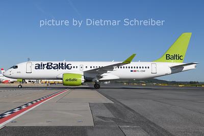 2021-05-09 YL-CSM Airbus A220-300 Air Baltic