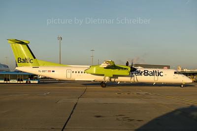 2017-12-25 YL-BBT Dash 8-400 Air Baltic