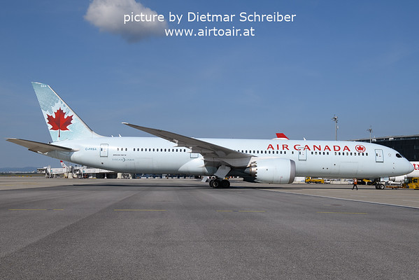 2021-09-23 C-FRSA Boeing 787-9 AIr Canada