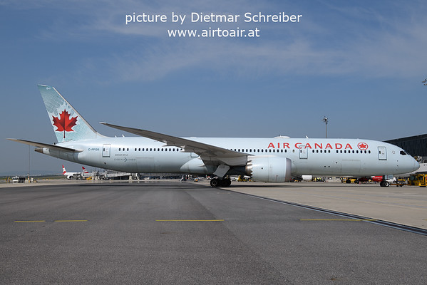 2021-09-06 C-FPQB Boeing 787-9 Air Canada