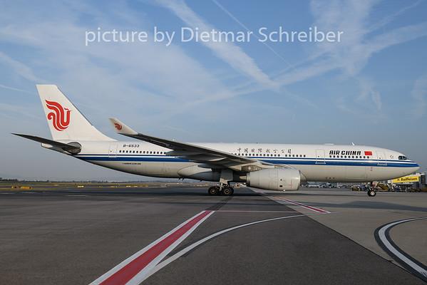 2018-08-23 B-6533 Airbus A330-200 Air China