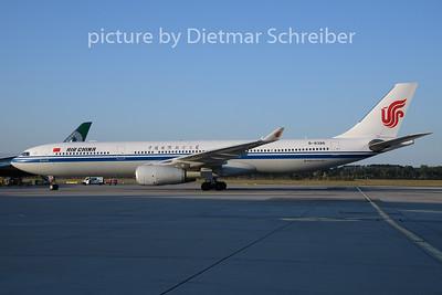 2019-08-15 B-8386 Airbus A330-300 Air China