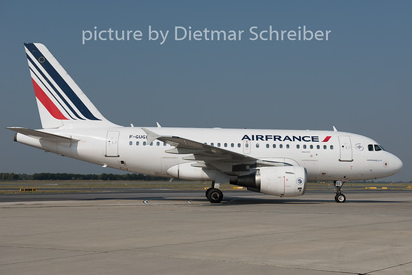 2015-08-14 F-GUGL Airbus A318 Air France