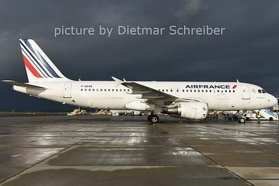 2014-10-21 F-GKXN Airbus A320 Air France