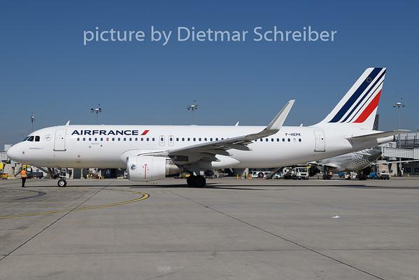 2018-08-13 F-HEPK Airbus A320 Air France