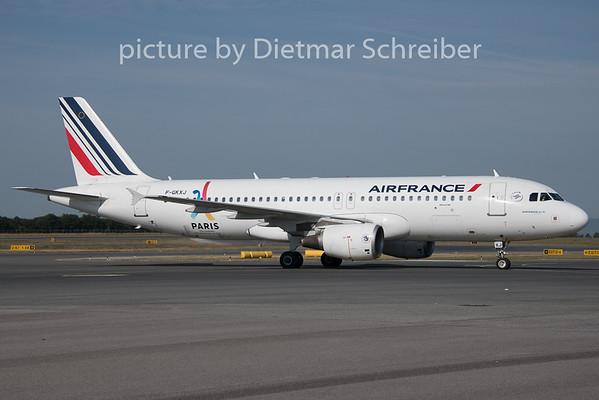 2019-08-05 F-GKXJ Airbus A320 Air France