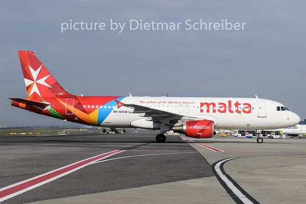 2019-04-04 9H-AES Airbus A320 Air Malta