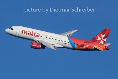 2020-01-12 9H-AEP Airbus A320 Air Malta