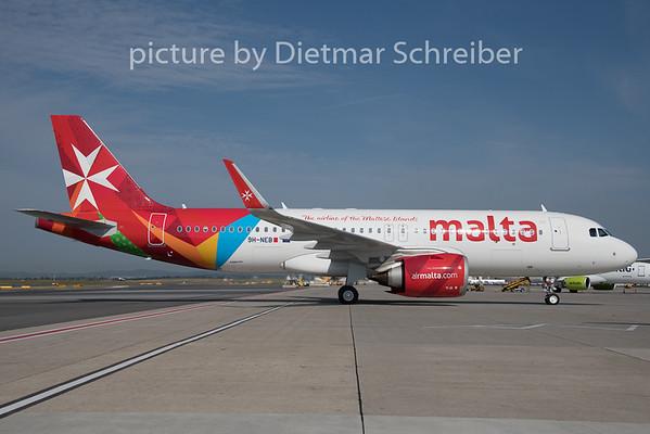 2019-08-05 9H-NEB Airbus A320neo Air Malta