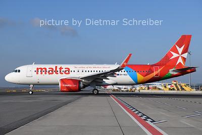2021-01-11 9H-NED Airbus A320neo Air Malta