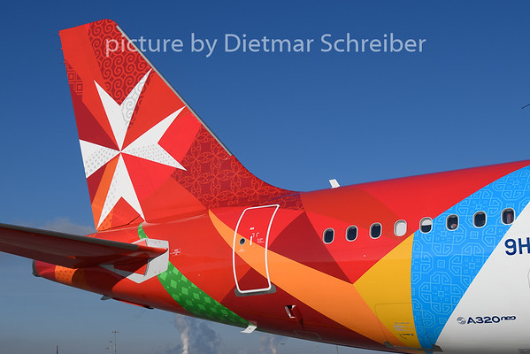 2019-02-05 9H-NEO AIrbus A320neo Air Malta