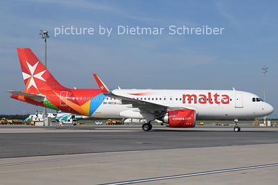 2021-08-13 9H-NEC Airbus A320neo Air Malta