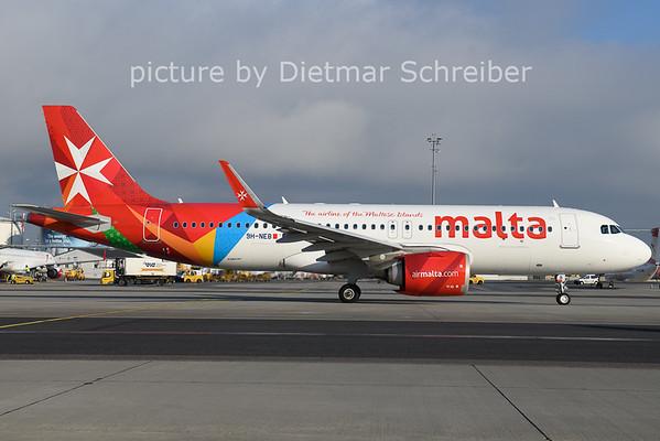 2021-01-08 9H-NEB Airbus A320neo AIr Malta