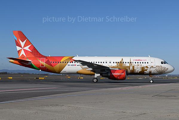 2020-02-20 9H-AEO Airbus A320 Air Malta