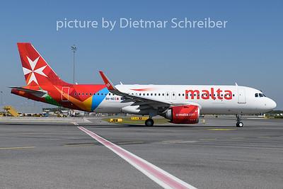 2020-08-22 9H-NEC Airbus A320neo Air Malta