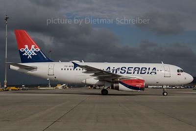 2017-04-18 YU-APB Airbus A319 Air Serbia