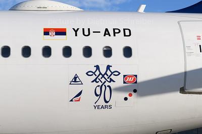 2018-01-02 YU-APD Airbus A319 Air Serbia