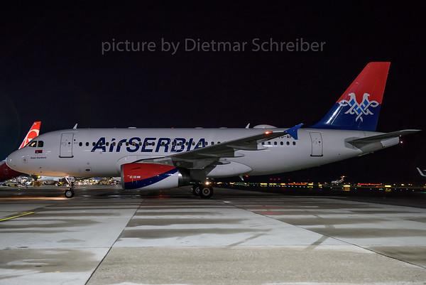 2016-11-10 YU-APJ Airbus A319 Air Serbia