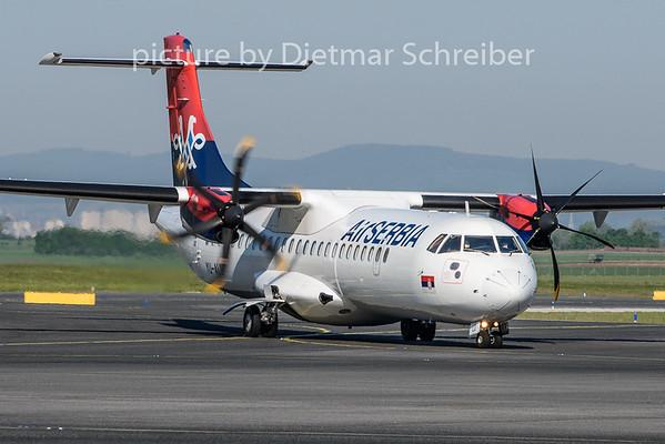 2019-04-22 YU-ALV ATR72 Air Serbia