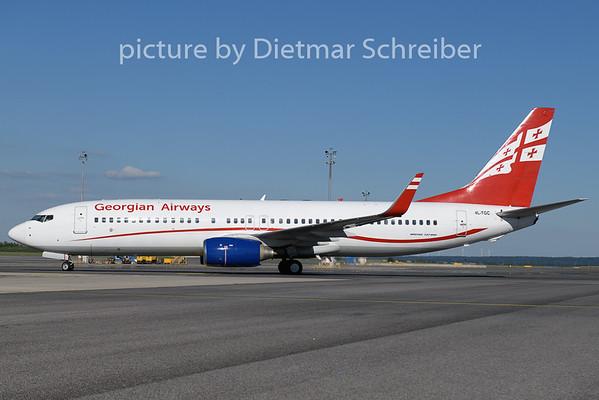 2020-07-05 4L-TGC Boeing 737-800 Georgian Airways