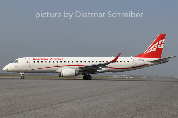 2018-10-18 4L-TGU Embraer 190 Georggian Airways