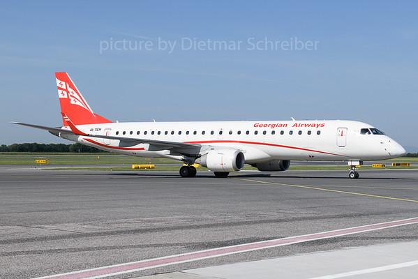 2018-05-31 4L-TGH Embraer 190 Georgian Airways