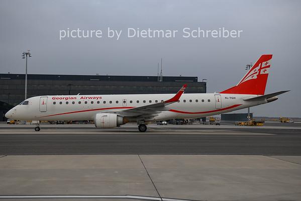 2021-01-10 4L-TGH Embraer 190 Georgian Airways