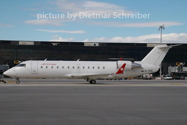 2009-07-20 4L-TGG Regionaljet 200 AIr Zena / Georgian Airways