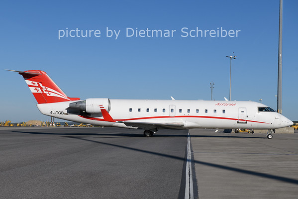 2021-05-09 4L-TGB Regionaljet Georgian Airways