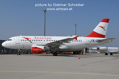 2021-09-26 OE-LDB Airbus A319 Austrian AIrlines
