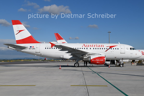 2021-05-28 OE-LDG Airbus A319 Austrian AIrlines