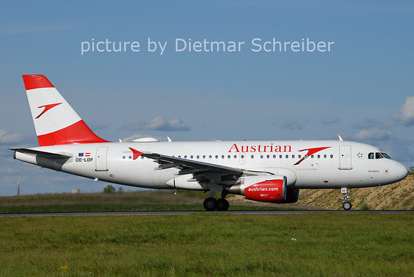 2021-05-06 OE-LDF Airbus A319 Austrian AIrlines