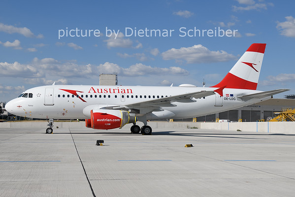 2021-07-16 OE-LDG Airbus A319 AUstrian AIrlines