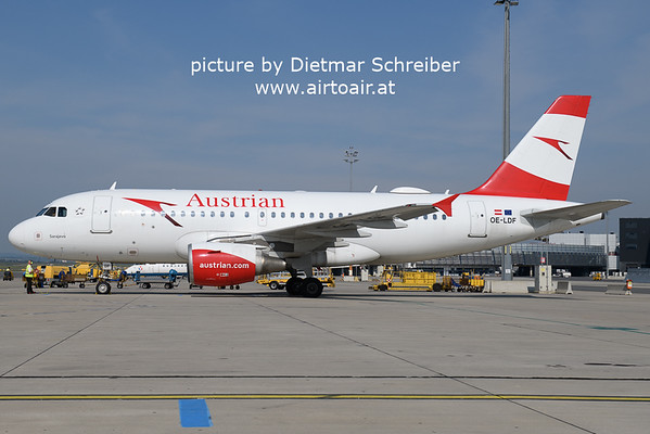 2021-05-22 OE-LDF Airbus A319 Austrian AIrlines