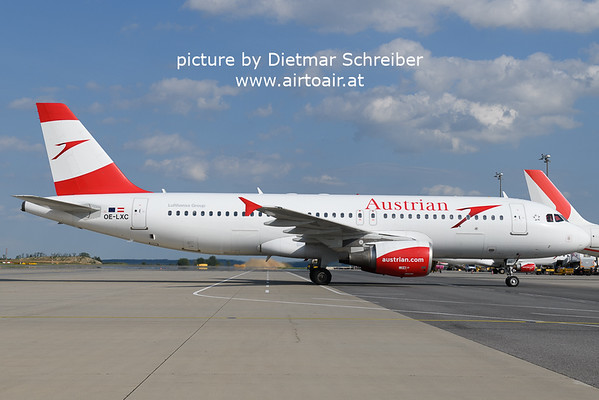 2021-08-20 OE-LXC AIrbus A320 Austrian AIrlines