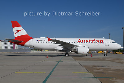 2021-06-01 OE-LBV Airbus A320 Austrian AIrlines