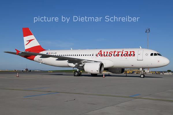 2021-05-09 OE-LZB AIrbus A320 Austrian AIrlines