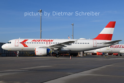 2020-12-31 OE-LBO Airbus A320 Austrian Airlines
