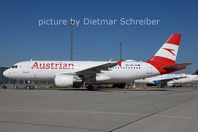 2021-06-10 OE-LBK AIrbus A320 Austrian AIrlines