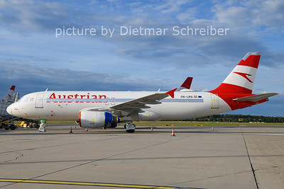 2021-08-03 OE-LBS Airbus A320 Austrian Airlines