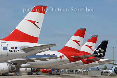 2020-08-28 OE-LBY Airbus A320 Austrian Airlines