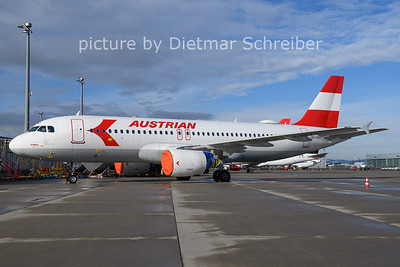 2021-01-24 OE-LBO AIrbus A320 Austrian AIrlines