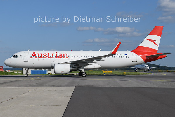 2021-08-25 OE-LZF AIrbus A320 Austrian AIrlines