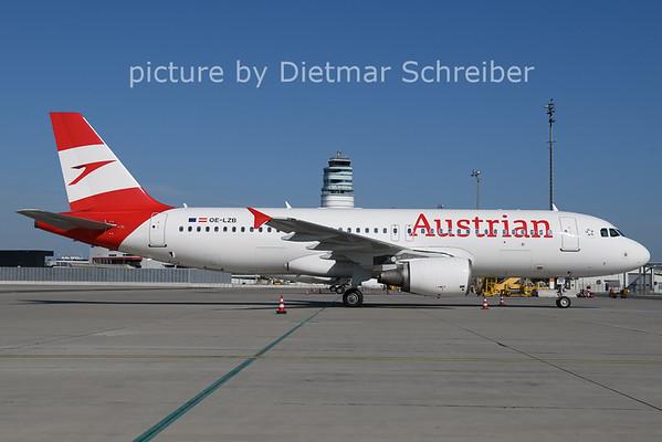 2021-06-10 OE-LZB AIrbus A320 Austrian AIrlines