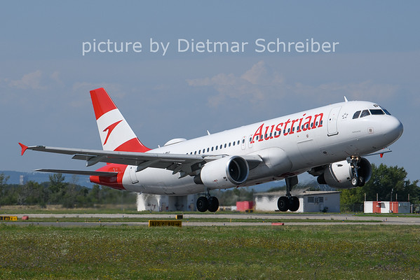 2021-08-10 OE-LBU Airbus A320 Austrian AIrlines