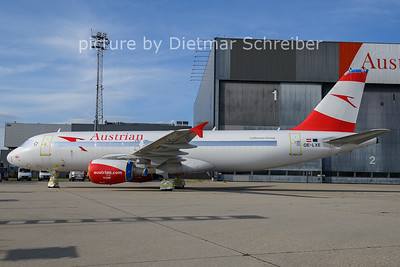 2021-06-27 OE-LXE Airbus A320 Austrian AIrlines