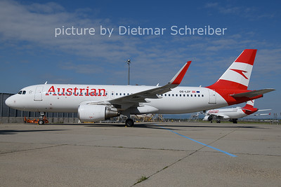 2021-05-31 OE-LZF AIrbus A320 AUstrian Airlines