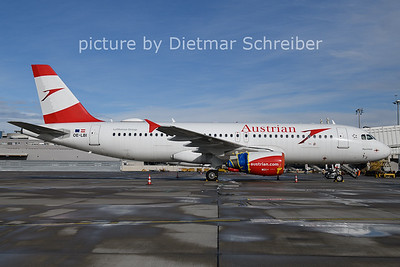 2021-01-22 OE-LBI Airbus A320 Austrian AIrlines